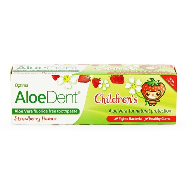 An image of Aloe Dent Children's Toothpaste 50ml