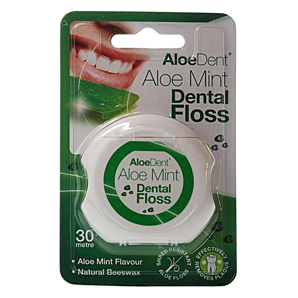 An image of Aloe Dent Mint Dental Floss