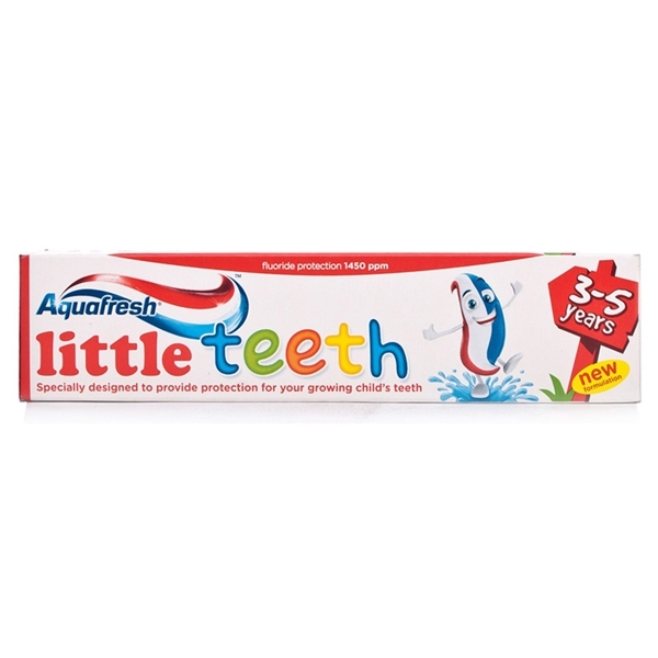 An image of Aquafresh Little Teeth 3-5 yrs Toothpaste 50ml